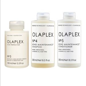 Olaplex Hair Perfecter, Shampoo, Conditioner Set